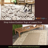 Designer Home Decor Indoor/Outdoor Rugs in the USA